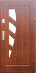 Drzwi zewnętrzne płytowe