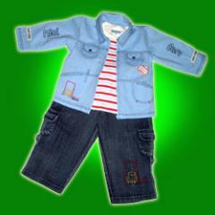 Ubrania dżinsowe