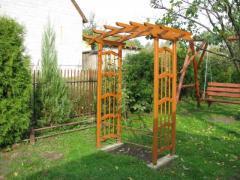 Pergola ogrodowa 01