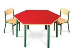 Stoły i krzesła przedszkolne