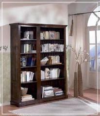 Biblioteka stylowa, zestaw regałowy, nr kat. 023/D