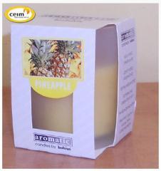 Świeczka w szkle pineapple (bolsius)
