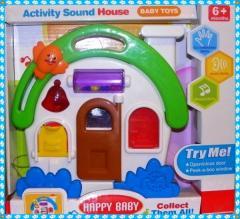 Interaktywny domek muzyczy