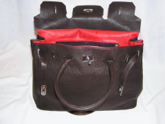 Włoskie oryginalne torby damskie, skóra cielęca
