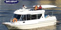 Sun Camper 30, łódź kabinowa z silnikiem