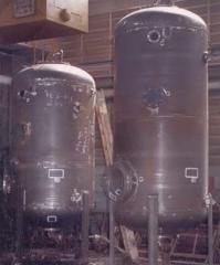 Zbiorniki ciśnieniowe filtracyjne V=20 m