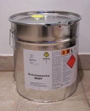 Protective petrolic paraffin wax