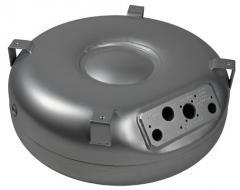 Zbiorniki samochodowe LPG toroidalne pod wielozawór lub z płytą armaturową.
