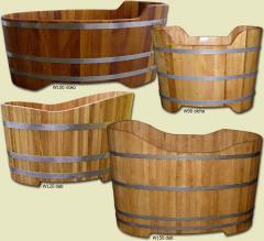 Wanny drewniane