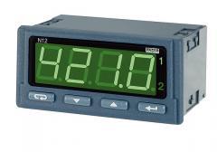 Programowalny miernik napięcia lub prądu przemiennego oraz częstotliwości z wyjściem RS-485, analog. i przekaźnikowym - N12P
