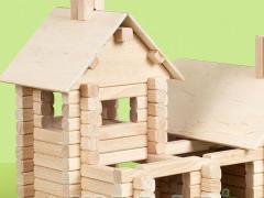 Klocki drewniane Mały Cieśla