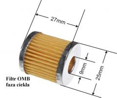 Filters for cars LPG  OMB