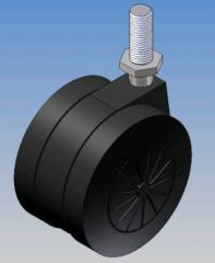 Supports wheel for furniture