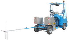 Machines for road marking