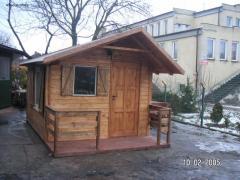 Domki ogrodowe letniskowe drewno