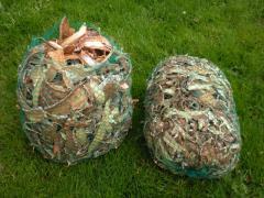 Rozpałka ekologiczna robiona z kory brzozowej