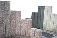 Słupy granitowe