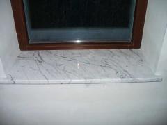 Marble window sills