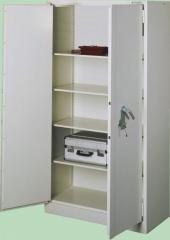 Szafy metalowe biurowe 2 drzwiowe