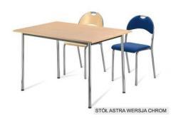 Stół Astra chrom