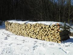 Drewno opałowe w wałku 1,2mb lub 2,5mb