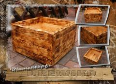 Donice drewniane / Blumentöpfe 43/43/L