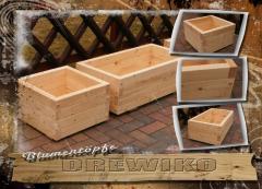 Donice drewniane / Blumentöpfe