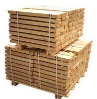 Drewno budowlane.