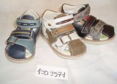 Sandałki dla chłopców Badoxx