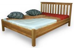 Łóżko dębowe lub bukowe Lupo