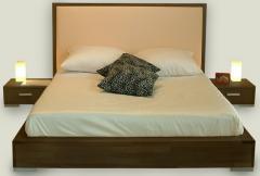 Łóżko bukowe lub dębowe City Elegant