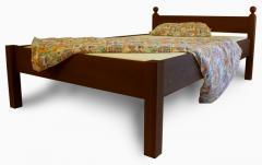 Łóżko dębowe lub bukowe Modern
