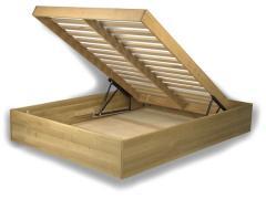 Łóżko bukowe lub dębowe Smart 2