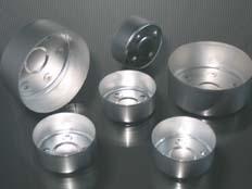 Opakowanie aluminiowe do świec