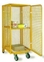 Container trolleys for hotels, hospitals,