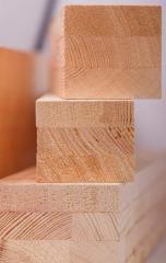 Glued beam