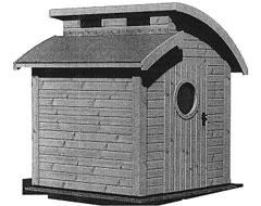Domek ogrodowy ELF 15-15