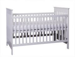 Łóżeczko niemowlęce 70x140 - kolor biały