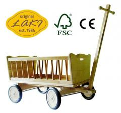 Wózek drewniany FSC WZ24S - 07 Średni