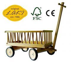 Wózek drewniany FSC WZ24S - 04 Średni