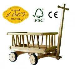 Wózek drewniany FSC 12M - 04