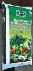 Profesjonalne podłoże warzywne  wzbogacone nawozem