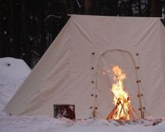 Namiot Mini Soldier - rekonstrukcja namiotu z XV