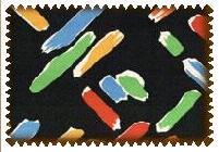 Tkaniny lniane -drukowane