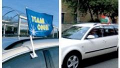 Automobile flags