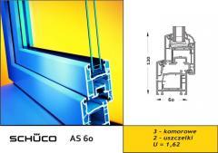 Okno PCV AS 60 STANDARD