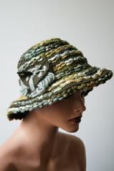 Czapka kapelusz wełniany