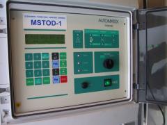 Sterownik termicznej obróbki drewna MSTOD-01