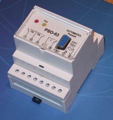Sterowniki oświetlenia typu PSO-01P / PSO-02P