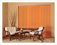 Curtain - venetian blind vertical